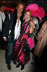 PRINCE VALERIO MASSIMO and ALEXANDRA OWENS at Andy & Patti Wong's annual Chinese New year Party, this year to celebrate the Year of The Pig, held at Madame Tussauds, Marylebone Road, London on 27th January 2007.<br /><br />NON EXCLUSIVE - WORLD RIGHTS