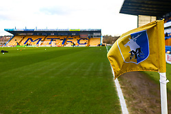 A general view of the One Call Stadium, home to Mansfield Town - Mandatory by-line: Ryan Crockett/JMP - 29/12/2018 - FOOTBALL - One Call Stadium - Mansfield, England - Mansfield Town v Swindon Town - Sky Bet League Two