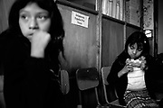 Photo by Steven St. John..Students and volunteer teachers at El Nahual in (Xela) Quetzaltengo, Guatemala...((COPYRIGHT STEVEN ST. JOHN, APPROVED FOR EL NAHUAL WEBSITE USE ONLY ONLY. ALL OTHER USE, CONTACT COPYRIGHT HOLDER FOR TERMS OF USE.)) ..sstjohnphoto@gmail.com