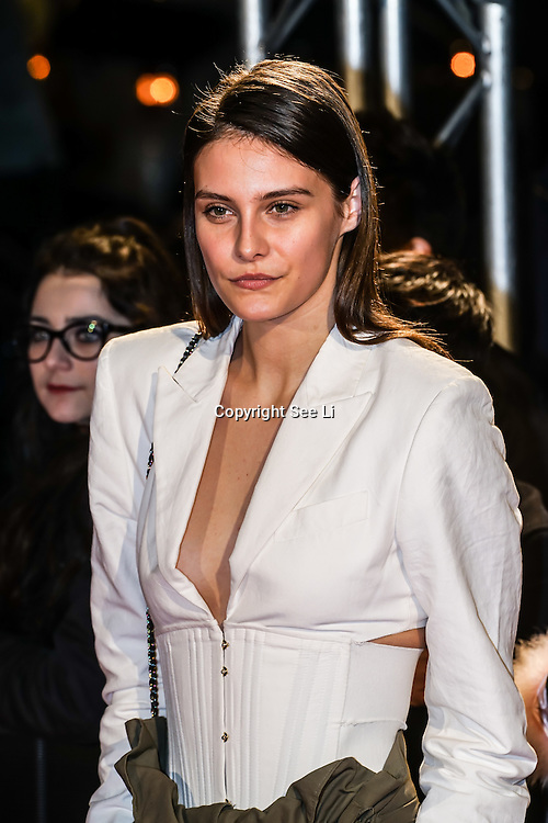 London,England,UK. 21th Fen 2017.  Charlotte Wiggins attends London Fabulous Fund Fair hosted by Natalia Vodianova and Karlie Kloss in support of The Naked Heart Foundation on February 21, 2017 at The Roundhouse in London, England.,UK. by See Li