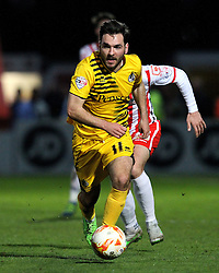 Jake Gosling of Bristol Rovers - Mandatory by-line: Robbie Stephenson/JMP - 19/04/2016 - FOOTBALL - Lamex Stadium - Stevenage, England - Stevenage v Bristol Rovers - Sky Bet League Two