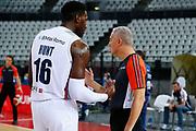 Hunt Dario Arbitro Paternico Carmelo<br /> Virtus Roma - Banco di Sardegna Sassari<br /> Legabasket Campionato Serie A 2020/2021<br /> Roma, 11/10/2020<br /> Foto A. De Lise/Ciamillo-Castoria