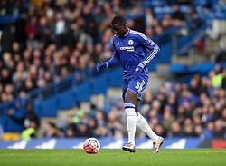Kurt Zouma of Chelsea - Mandatory byline: Robbie Stephenson/JMP - 10/01/2016 - FOOTBALL - Stamford Bridge - London, England - Chelsea v Scunthrope United - FA Cup Third Round