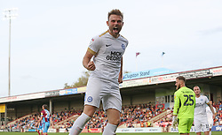 Matt Godden of Peterborough United celebrates scoring his first goal of the game - Mandatory by-line: Joe Dent/JMP - 13/10/2018 - FOOTBALL - Glanford Park - Scunthorpe, England - Scunthorpe United v Peterborough United - Sky Bet League One