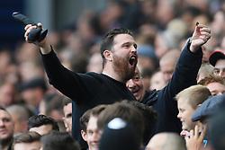 16th September 2017 - Premier League - West Bromwich Albion v West Ham United - West Ham fans wave a black dildo - Photo: Simon Stacpoole / Offside.