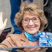 NLD/Amsterdam/20180424 - koning en koningin bieden Corps Diplomatique diner aan, Prinses Margriet