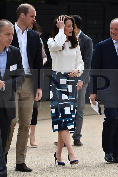 © Licensed to London News Pictures. 16/05/2016. The Duke and Catherine, Duchess of Cambridge and His Royal Highness Prince Harry will attend the launch of their Heads Together campaign to eliminate stigma on mental health London, UK. Photo credit: Ray Tang/LNP
