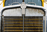 Grill close up of Kenworth truck, Loveland CO