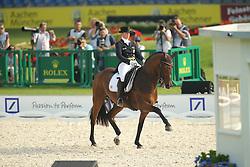 Werth Isabell, (GER), Don Johnson FRH<br /> European Championship Aachen 2015 - Dressage<br /> © Hippo Foto - Stefan Lafrentz