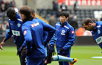 Wednesday 09 February 2013..Pictured: Ji-Sung Park of QPR...Re: Barclay's Premier League, Swansea City FC v Queen's Park Rangers at the Liberty Stadium, south Wales.
