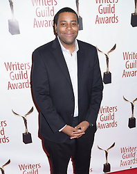 Kenan Thompson arrivals at the Writers Guild Awards 2019 in New York City, USA on February 17, 2019.