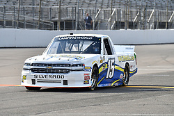 June 22, 2018 - Madison, Illinois, U.S. - MADISON, IL - JUNE 22:  Bobby Reuse (15) driving a Chevrolet for WCIparts.com warms up before the Camping World Truck Series - Eaton 200 on June 22, 2018, at Gateway Motorsports Park, Madison, IL.   (Photo by Keith Gillett/Icon Sportswire) (Credit Image: © Keith Gillett/Icon SMI via ZUMA Press)