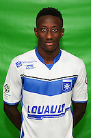 Brahim Konate of Auxerre during Auxerre squad photo call for the 2016-2017 Ligue 2 season on September, 7 2016 in Auxerre, France ( Photo by Andre Ferreira / Icon Sport )