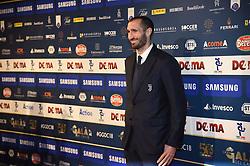 December 3, 2018 - Milan, Italy - Juventus player Giorgio Chiellini during the 'Oscar Del Calcio AIC' Italian Football Awards on December 3, 2018 in Milan, Italy. (Photo by Andrea Diodato/NurPhoto) (Credit Image: © Andrea Diodato/NurPhoto via ZUMA Press)