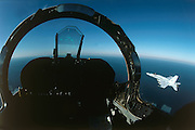 F-18 Heads-Up-Display