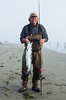 Salmon fishing near the mouth of the Columbia River.