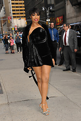 April 17, 2017 - New York, NY, USA - April 17, 2017 New York City..Jennifer Hudson arriving to tape an appearance on 'The Late Show with Stephen Colbert' on April 17, 2017 in New York City. (Credit Image: © Kristin Callahan/Ace Pictures via ZUMA Press)