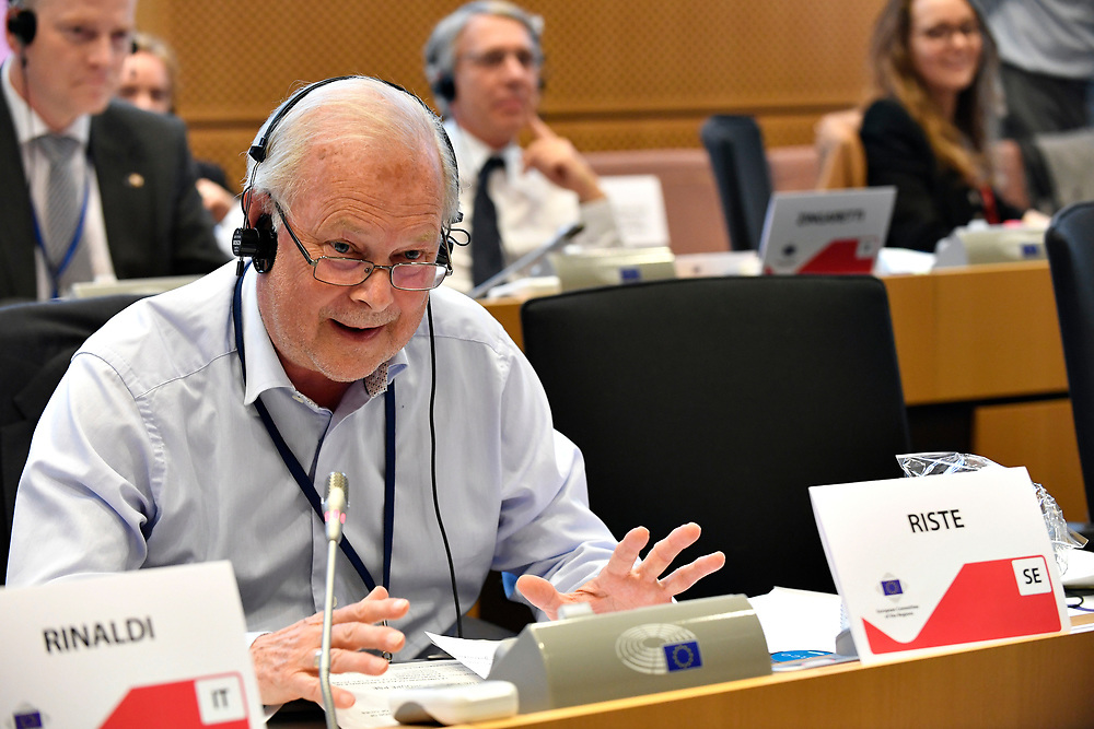 11 May 2017, 123rd Plenary Session of the European Committee of the Regions <br /> Belgium - Brussels - May 2017 <br /> <br /> RISTE Tomas <br />  © European Union / Fred Guerdin