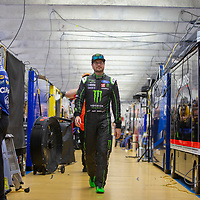 May 19, 2018 - Concord, North Carolina, USA: Kurt Busch (41) gets ready for the final practice for the Monster Energy Open at Charlotte Motor Speedway in Concord, North Carolina.