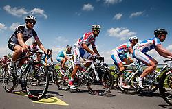 Luka Pibernik (SLO) of Radenska during 4th Stage Brezice - Novo Mesto (155,8 km) at 20th Tour de Slovenie 2013, on June 16, 2013, Slovenia. (Photo by Urban Urbanc / Sportida.com)