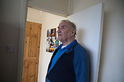Ronald Cray at his home in Central Hill Estate on 18th June 2016 in South London, United Kingdom. Mr Cray has been a council tenant for 50 years and lived at Central Hill Estate for about two years. Central Hill is a low-rise estate of more than 450 homes in Crystal Palace in South London and has been recommended for demolition under Lambeth Council estate regeneration plan. The housing scheme, built between 1966 and1974, was designed by Rosemary Stjernstedt under Lambeth Council's director of architecture, Ted Hollamby.