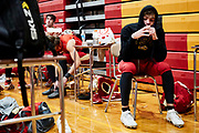 ORADELL, NJ - December 5: The season has offered many ups, downs and uncertainty for student athletes across the country - some did not even get a chance to play. Senior AJ Condemi gets emotional after what will be his last game played as a Crusader.<br /> <br /> We are in the midst of witnessing something this world has never experienced - a global pandemic. The coronavirus has swept away the world in March of 2020 - since then, the world we know It hasn't been the same. Jobs, businesses and futures have been put on hold and lost, yet, we have to power through to overcome one of the greatest obstacles this we have faced. The high school football season wasn't suppose to happen, but a glimmer of hope, intense safety measures & a little bit of luck has allowed for the season to start, now the question is ' Can It be completed?'<br /> <br /> Photo by Johnnie Izquierdo
