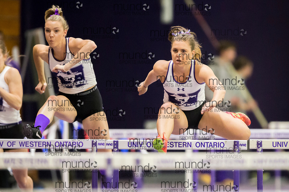 Western's Don Wright meet in London, Ontario,January 20, 2018.<br /> GEOFF ROBINS/ Mundo Sport Images