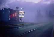 CS03109. Barts Wharf, 3839 N. Marine Drive, early morning with fog. January 15, 1966 side view