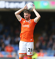 Blackpool's James Husband<br /> <br /> Photographer Rob Newell/CameraSport<br /> <br /> The EFL Sky Bet Championship - Southend United v Blackpool - Saturday 10th August 2019 - Roots Hall - Southend<br /> <br /> World Copyright © 2019 CameraSport. All rights reserved. 43 Linden Ave. Countesthorpe. Leicester. England. LE8 5PG - Tel: +44 (0) 116 277 4147 - admin@camerasport.com - www.camerasport.com