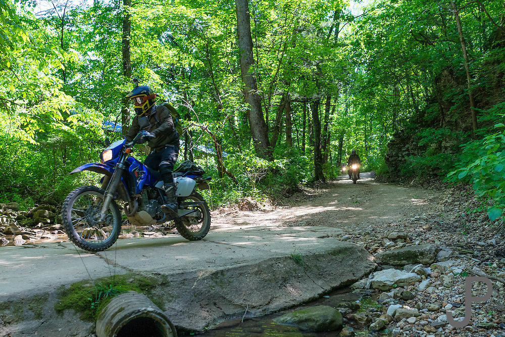 Hillbilly Dual Sport ride 2016 at The Hub motorcycle resort in Marble Falls, AR.