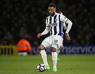 WBA's Matt Phillips in action during the Premier League match at Vicarage Road Stadium, London. Picture date: April 4th, 2017. Pic credit should read: David Klein/Sportimage