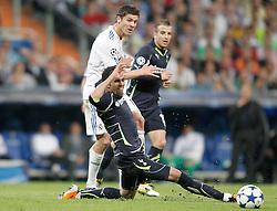 05-04-2011 VOETBAL: UEFA CL REAL MADRID - TOTTENHAM HOTSPUR: MADRID<br /> Xabi Alonso <br /> *** Netherlands only ***<br /> ©2010-FRH- NPH/ Alvaro Hernandez