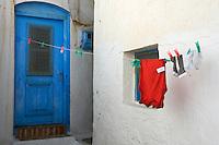 Grece, Cyclades, ile de Kythos, village de Driopida // Greece, Cyclades islands, Kythnos, driopida
