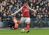 Football - 2017 / 2018 Premier League - Tottenham Hotspur vs. Arsenal<br /> <br /> Henrikh Mikhitaryan (Arsenal FC) who had a quiet game at Wembley Stadium.<br /> <br /> COLORSPORT/DANIEL BEARHAM
