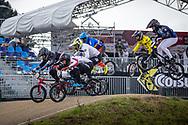 2021 UCI BMXSX World Cup<br /> Round 4 at Bogota (Colombia)<br /> Qualification Moto<br /> ^me#76 BABRIS, Helvijs (LAT, ME) Prophecy, Faith<br /> ^me#161 RAGOT RICHARD, Mathis (FRA, ME) Wiawis, Pro Start<br /> ^me#235 THOUIN, Theo (FRA, ME) DN1 Saint-Brieuc