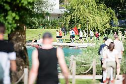 Preparation run for Nocna 10ka around Lake Bled, Slovenia on 9th of June, 2019. Photo by Peter Podobnik / Sportida