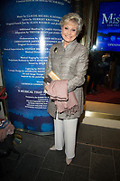 Angela Ripon at the Les Miserables Gala Press Night at the Sondheim Theatre in London's West End.