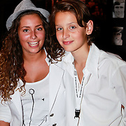 NLD/Amsterdam/20110528 - Toppers in Concert 2011, Didier Froger en partner .....