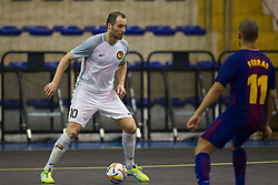 November 22, 2017 - Pescara, PE, Italy - Joroen De Groot of 't Knooppunt in action during the Elite Round of UEFA Futsal Cup 17/18 match between FC Barcelona and ZVV 'T Knoppount at Giovanni Paolo II arena on November 22, 2017 in Pescara, Italy. (Credit Image: © Danilo Di Giovanni/NurPhoto via ZUMA Press)