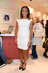 Tennis player HEATHER WATSON at the launch of the Benefit Global Flagship Boutique at 10 Carnaby Street, London on 11th September 2013.