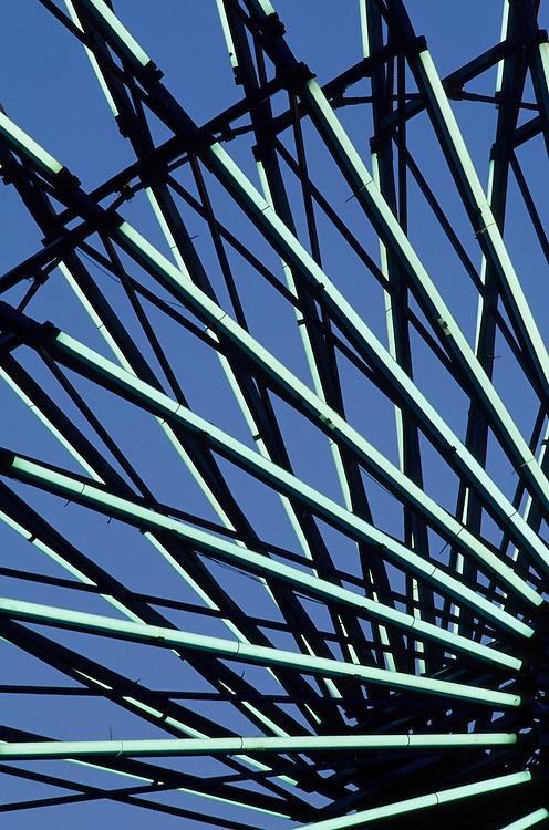 Ferris wheel (detail) at Puyallup Fair, Washington, United States