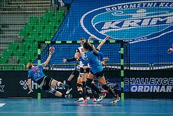 Valentina Klemenčič of Slovenia during handball match between RK Krim Mercator (SLO) and Vipers Kristiansand (NOR), on September 12, 2020 in Arena Stožice, Ljubljana, Slovenia. Photo by Sinisa Kanizaj / Sportida