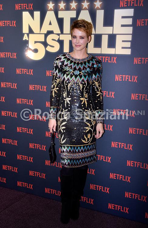 ANDREA OSVART PHOTOCALL<br /> del film NATALE A 5 STELLE di  MARCO RISI. 7 dicembre 2018