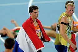 29-07-2010 ATLETIEK: EUROPEAN ATHLETICS CHAMPIONSHIPS: BARCELONA<br /> Tienkamper Eelco Sintnicolaas pakt de zilveren medaille <br /> ©2010-WWW.FOTOHOOGENDOORN.NL