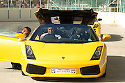 Spear Properties hosted select tenants at the Killarney race track, allowing the Spear Properties guests to enjoy driving a variety of supercars arond the racing circuit. Image by Greg Beadle