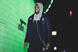 Marcus Delpeche of Bristol Flyers arrives at Plymouth Pavilions prior to kick off - Photo mandatory by-line: Ryan Hiscott/JMP - 28/12/2019 - BASKETBALL - Plymouth Pavilions - Plymouth, England - Plymouth Raiders v Bristol Flyers - British Basketball League Championship