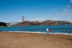 Crissy Field, Golden Gate Bridge, San Francisco, California, USA.  Photo copyright Lee Foster.  Photo # california108255