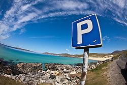 Seilebost beach on the Isle of Harris, the Western Isles, Scotland. .©Michael Schofield..