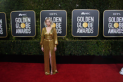 Lucy Boynton attends the 76th Annual Golden Globe Awards at the Beverly Hilton in Beverly Hills, CA on Sunday, January 6, 2019.