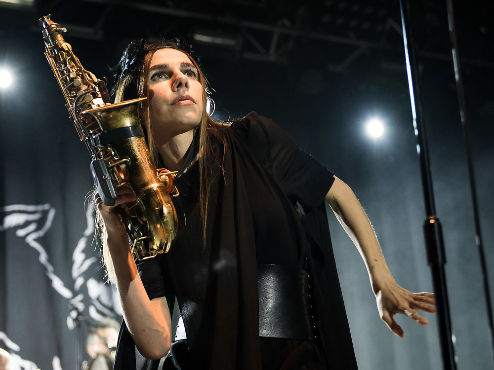 British singer-songwriter PJ Harvey at Iceland Airwaves